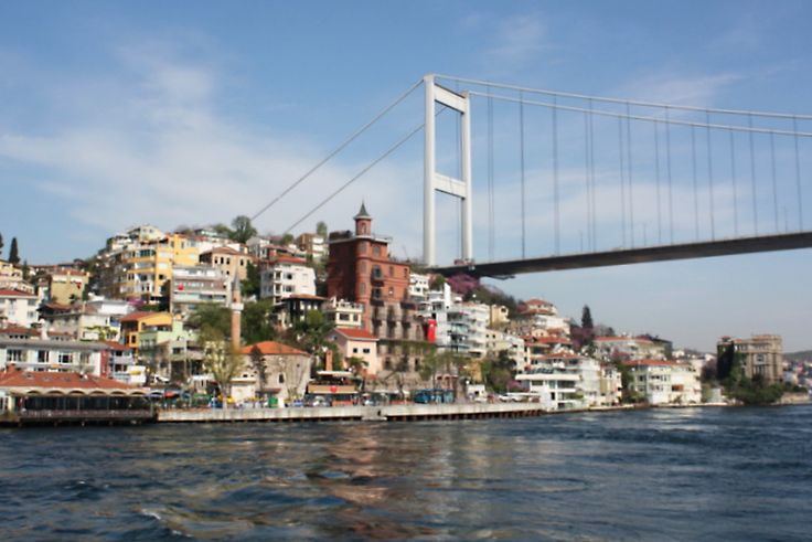 I've been here - Istanbul. Truly one of the world's most beautiful cities. More beautiful than my native San Francisco even.