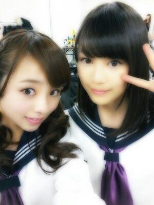 乃木坂46 (nogizaka46)  Kawamura Mahiro (川村真洋)  Ikuta Erika (生田絵梨花)