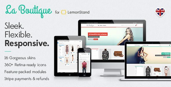 La Boutique • Responsive LemonStand Theme - Miscellaneous Magento