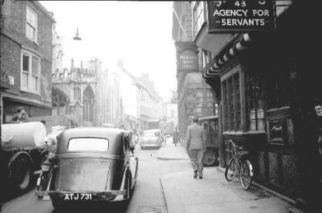 st helens in the 1950's - Google Search Coney Street, looking towards St Helen's Square