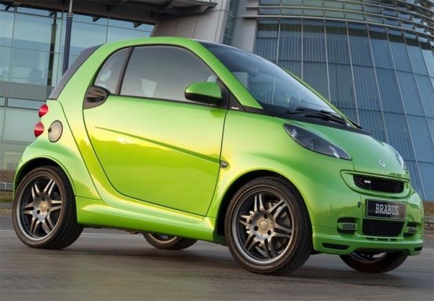 Mercedes Smart Car - too cute!!