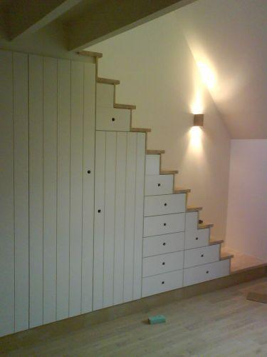 Gangkast deurtjes en lades