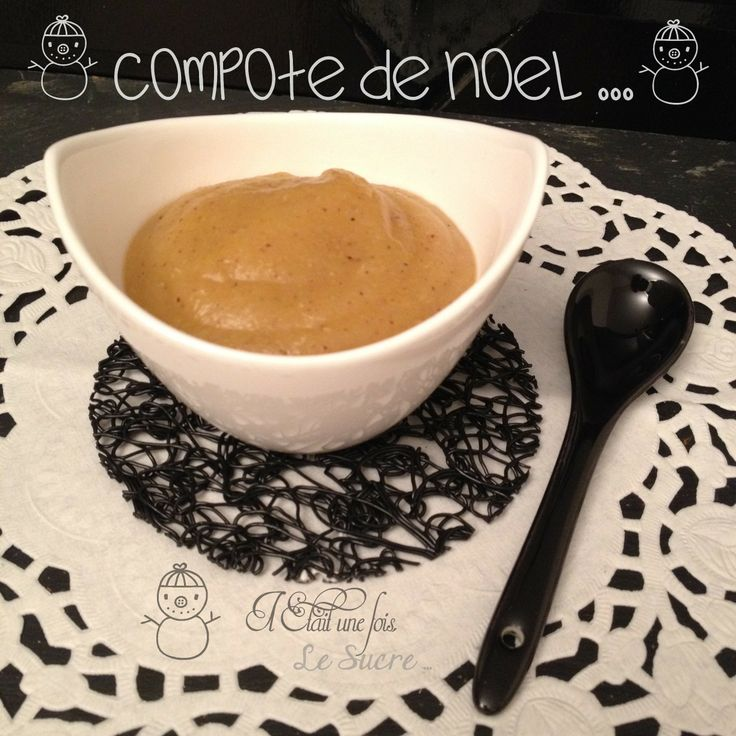 Compote de Noël made by thermomix
