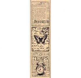 Tampon bois - Florilèges Design - Petites étiquettes vintage