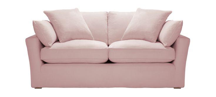 Caruso, pink, pastel sofa, pink sofa, Sofa Workshop