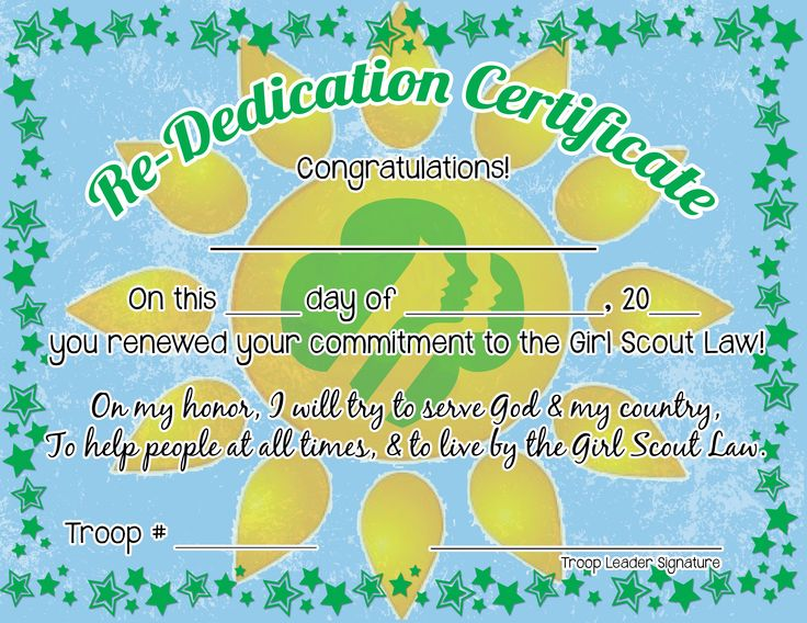 26 best ideas about Girl Scout Investiture/Rededication ...