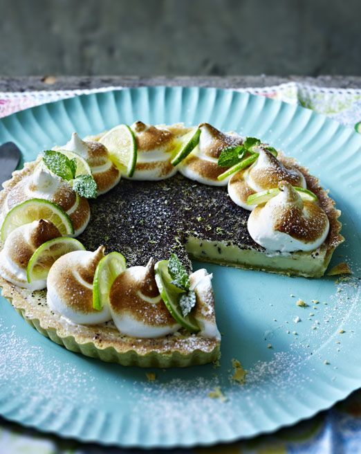 This Key lime pie was labelled perfection by Bake Off judge Paul Hollywood - quite an accolade!