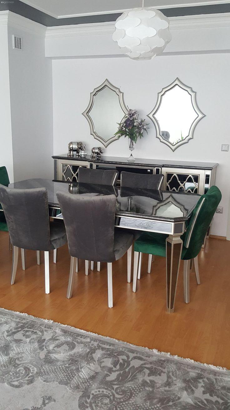 Miroir Salle De Sejour salle à manger, mobilier en miroir, salon, console, style