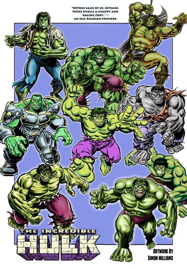 Hulk Collage by Simon-Williams-Art.deviantart.com on @DeviantArt