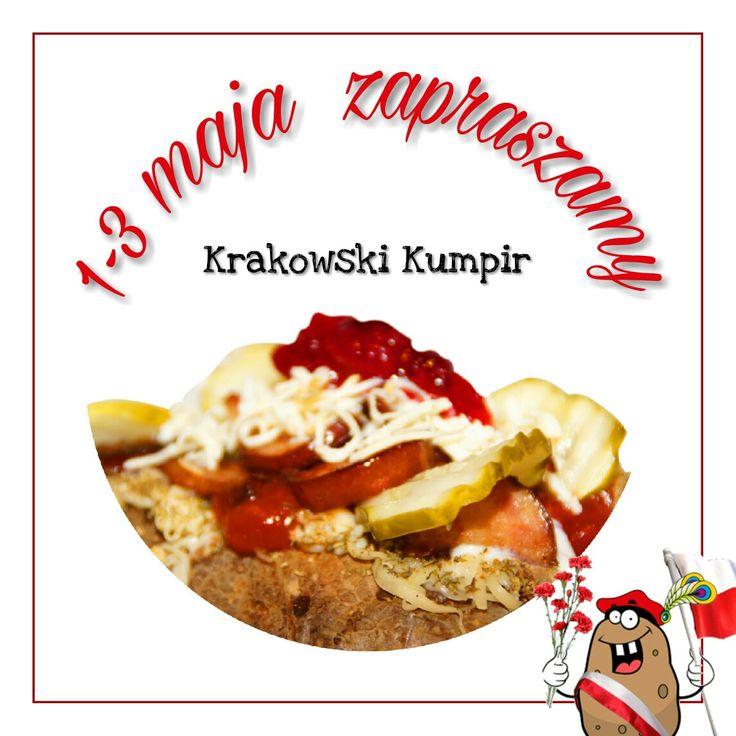 ☛ Długi weekend ☚  Jak Wam mija długi, majowy weekend?   Wszystkich Kumpirowiczów informujemy, że nasz lokal w Krakowie na ul. Grzegórzeckiej 3, w okresie 1-3 maja, otwarty jest w godzinach 11:00 - 3:00.  Zamówienia na dowóz realizujemy w godzinach 11:00 - 23:00.    SERDECZNIE ZAPRASZAMY  ☛ www.krakowskikumpir.pl ☺   #krakowskikumpir #kumpir #kraków #krakow #majówka #weekend #długiweekend