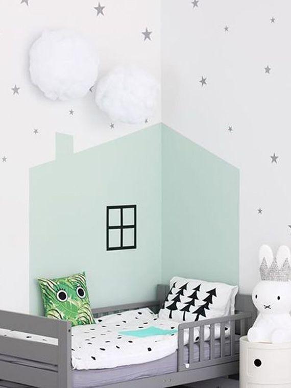 De kinderkamer muur verven? Het is een easy peasy klusje met groot resultaat. Op de blog geven we je volop inspiratie.