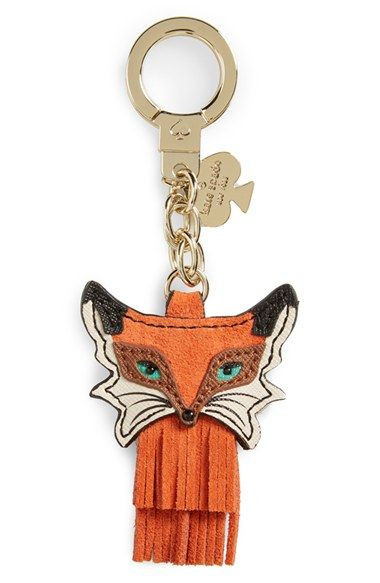 Free shipping and returns on kate spade new york kate spade new york fox key chain at Nordstrom.com. Tiered fringe details a clever fox-shaped key chain fashioned from expertly pieced leather.