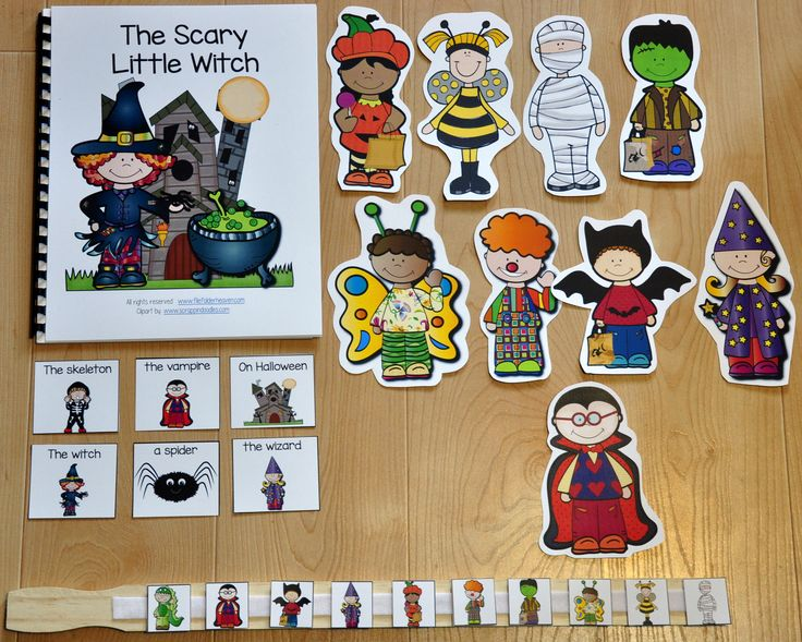"""FREEBIE!!! The, """"The Scary Little Witch"""" is super-fun and interactive Halloween…"""