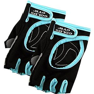Gold's Gym Women's Workout Gloves-- no more callouses. NEED these for power pump
