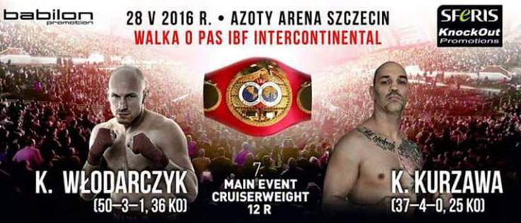Heute Abend stehen sich in Stettin der langjährige WBC und IBF Weltmeister im Cruisergewicht Krzysztof Wlodarczyk (50-3-1) und der Deutsche Kai Kurzawa (37-4-0) im Kampf um den vakanten IBF Intercontinental-Gürtel gegenüber.