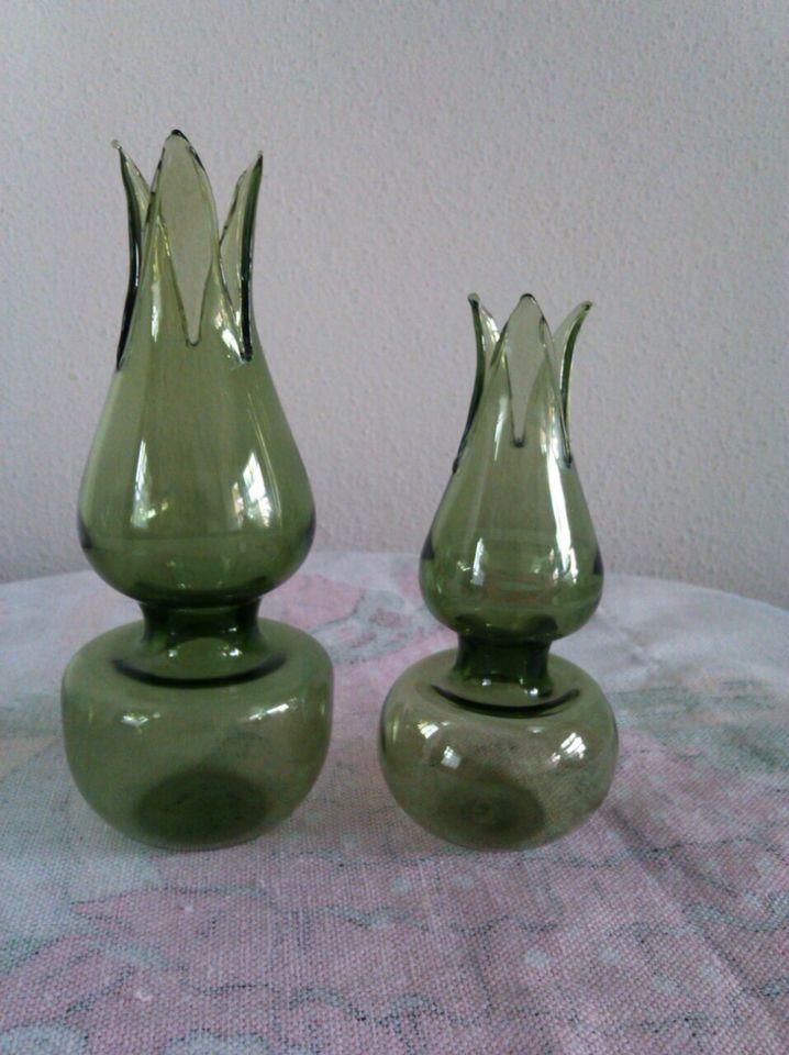Dekoratif lale mumluk cam üfleme sanatı