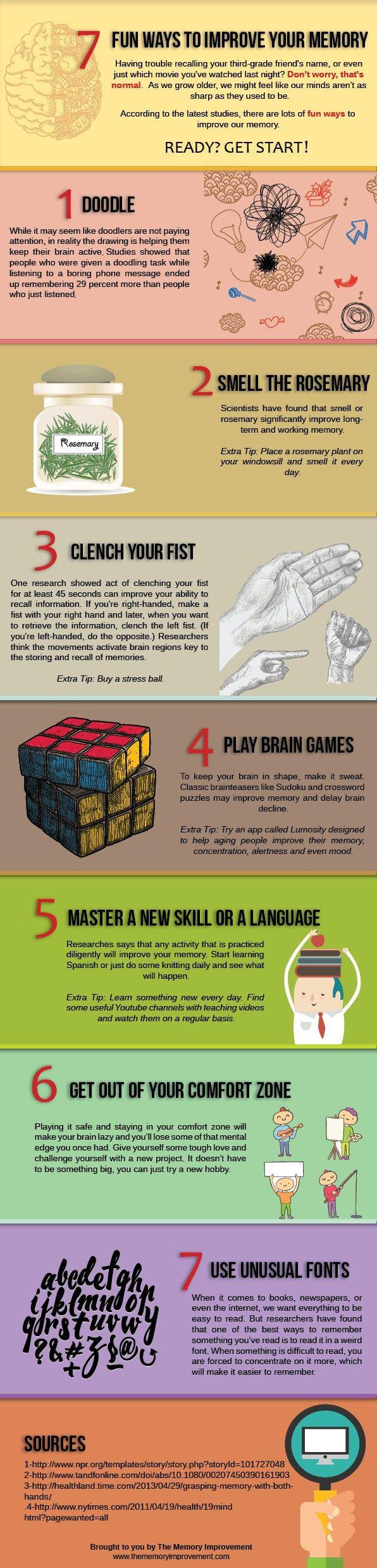 7 Easy Ways to Improve Your Memory