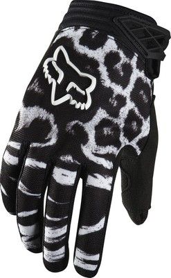 Fox Racing 2014 Womens Dirtpaw  Motocross Dirt Bike Gloves Size Medium Black