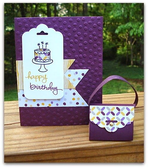 Stamp and Sew For Fun- June Open Samp Night Projects. Stampin' Up! Endless Birthday Wishes
