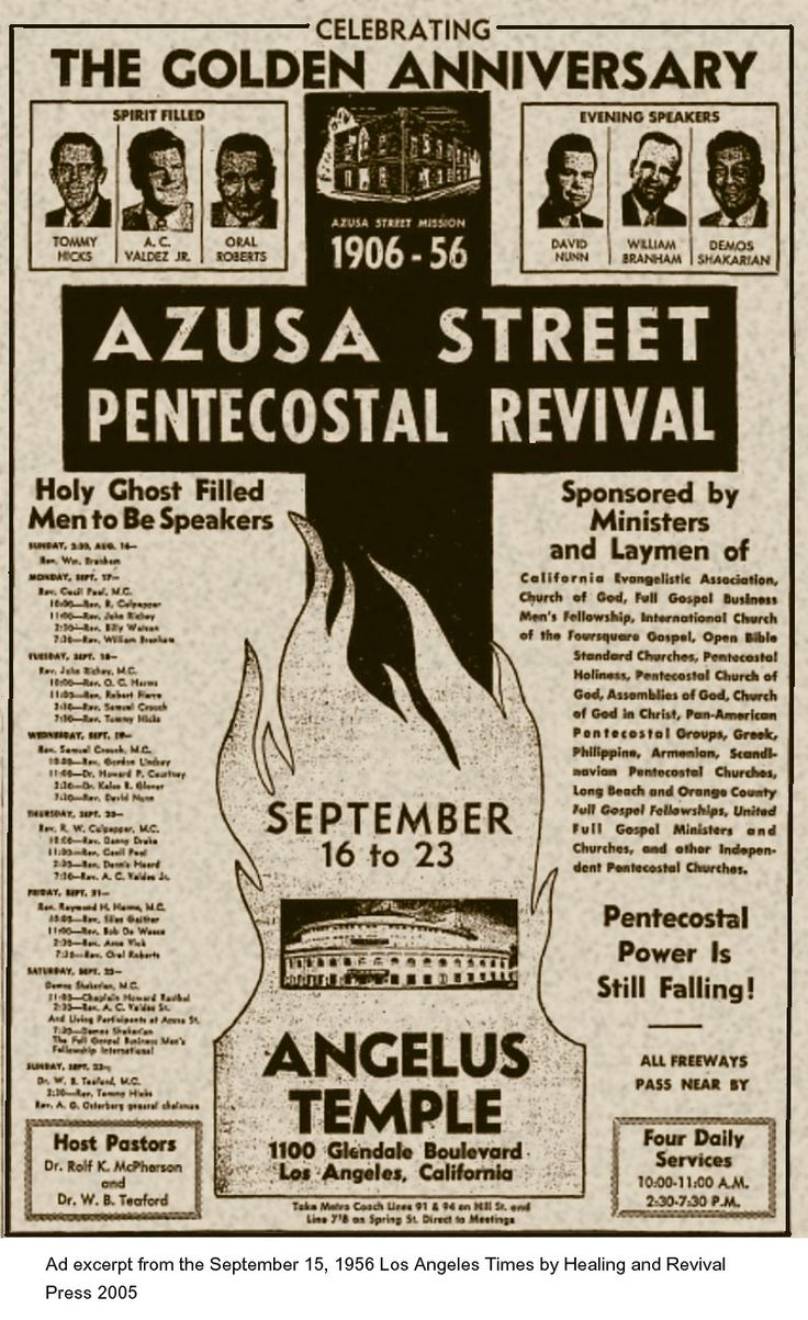 modern pentecostal movement