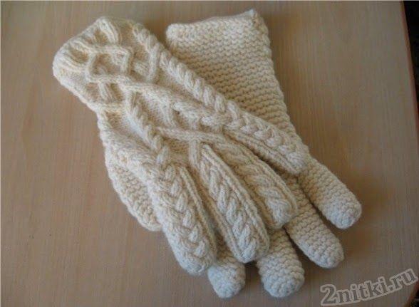 Красивые вязаные перчатки: Дневник группы «ВЯЖЕМ ПО ОПИСАНИЮ»: Группы - женская социальная сеть myJulia.ru