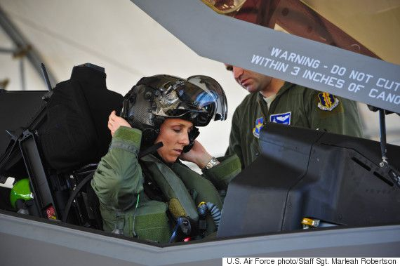 Air Force Announces First Ever Female F-35 Fighter Jet Pilot, Lt. Col. Christine Mau