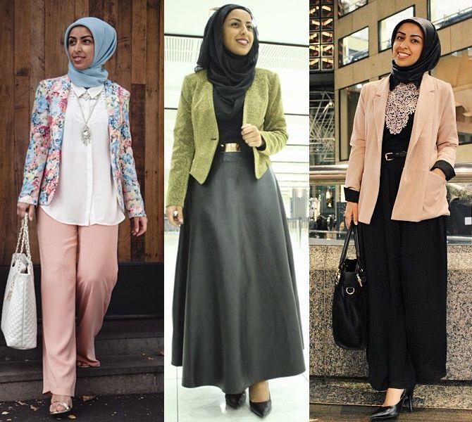 model baju kerja guru muslim