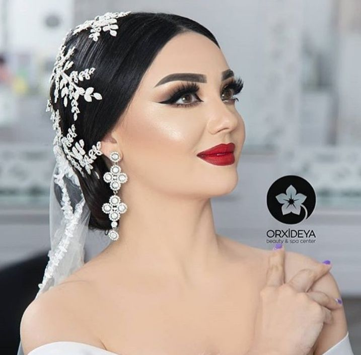 Pin By Aysun Mirzeyeva On Orxideya Makeup Baku Wedding Hairstyles Wedding Hair And Makeup Hairstyle