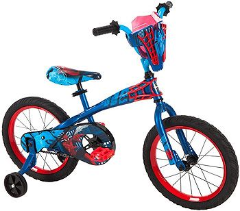 Boys 16 inch Huffy Spider-Man Titan Hero Bike