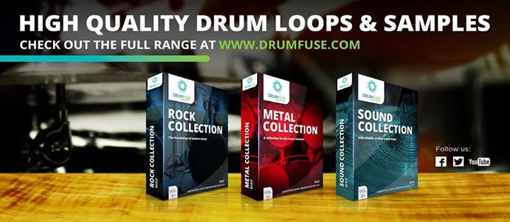 High quality drum loops & samples check out the full range at www.drumfuse.com