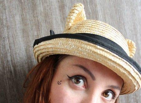 Chapéu gatinho
