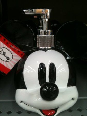 Amazon.com: Mickey Mouse Lotion and Soap Dispenser: Home & Kitchen