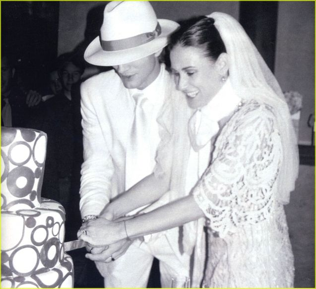 Ashton Kutcher and Demi Moore were married in an intimate ceremony on September 24, 2005.
