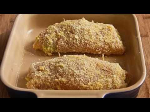 Kalyn's Kitchen®: Baked Chicken Stuffed with Pesto and Cheese