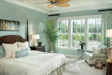 Tropical Bedroom design by Tampa Design-build Arthur Rutenberg Homes