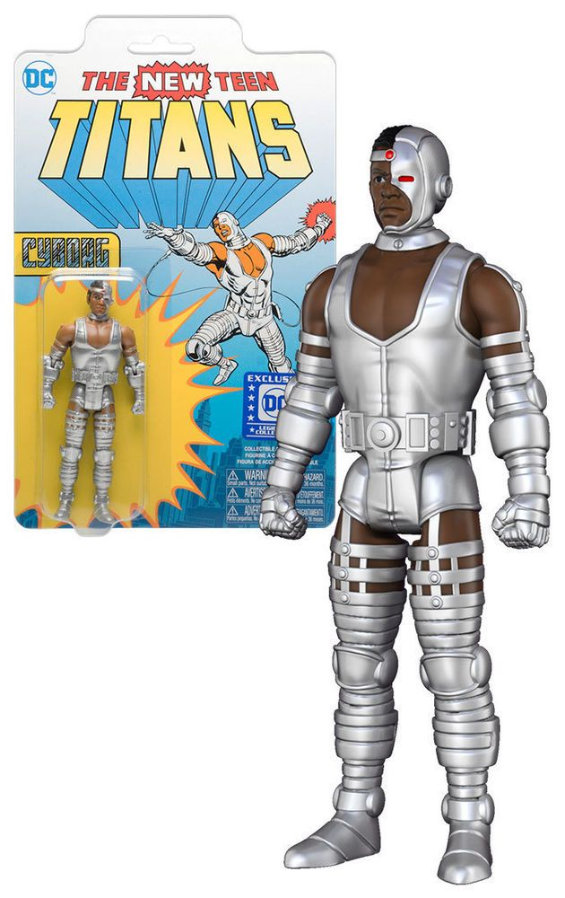"""Funko Teen Titans Cyborg - 3.75"""" Action Figure - DC Legion Of Collectors Exclusive - New, Mint Condition.  https://www.ebay.com.au/itm/332543056018?ViewItem=&item=332543056018 OR https://www.supportivepc.com  #Funko #TeenTitans #Cyborg #DC #LegionOfCollectors #Collectibles"""