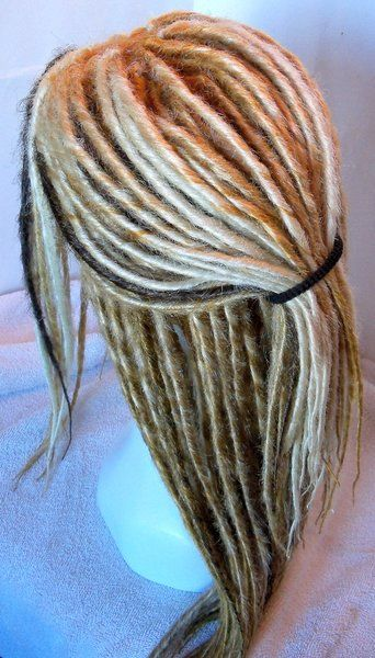 Custom Synthetic Dreadlock Wig You Choose Style and Colors DEPOSIT