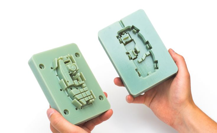 This article discusses the use of 3D printing to print molds for low run injection molding. Design considerations, materials, molds configurations and a comparative case study are all included
