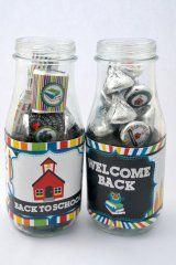 Back to School Print & Cut Files, these are wrappers that fit on a starbucks glass bottle, fill with treats and it makes an instant gift!
