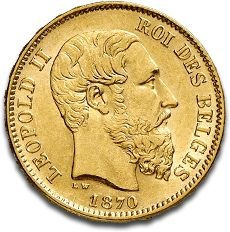 The 20 Francs Belges gold coins are historic coins minted in the nineteenth…
