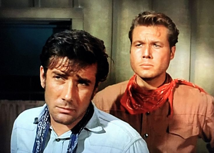 "https://flic.kr/p/P3L6yc | Robert Fuller and John Smith in ""Laramie"" 