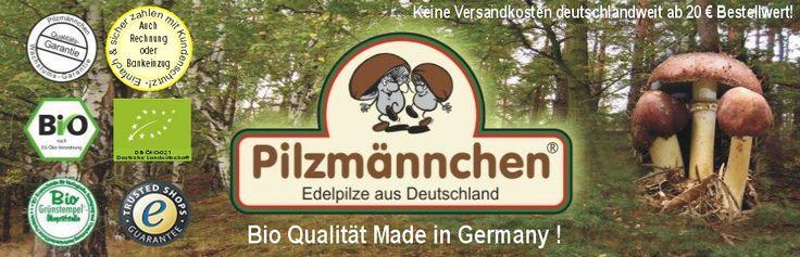 Pilze züchten mit Bio Pilzzucht Sets und Pilzbrut von Pilzmännchen