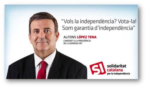 Solidaritat. Cartell electoral: autonòmiques 2012