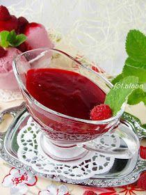 Ala piecze i gotuje: Sos malinowy