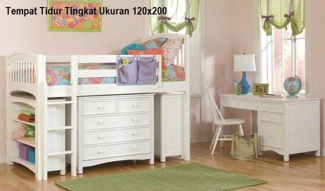 TEMPAT TIDUR TINGKAT UKURAN 120X200