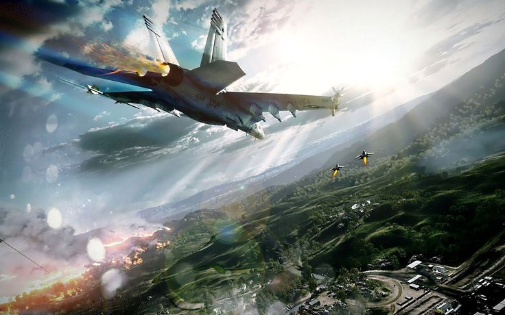 Fighter-Jet Aircraft Wallpaper   ... aircraft battlefield 3 skyscapes fighterjet 1920x12 Art HD Wallpaper