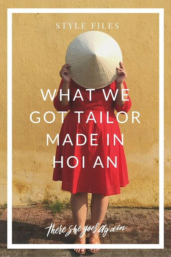 Hoi An tailors are a pretty popular subject when talking about this central Vietnamese city. With hundreds of options, here's our experience. via @thshegoesagain