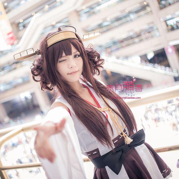 $20.00 (Buy here: https://alitems.com/g/1e8d114494ebda23ff8b16525dc3e8/?i=5&ulp=https%3A%2F%2Fwww.aliexpress.com%2Fitem%2FHigh-quality-Fleet-collection-Kantai-Collection-KanColle-Kongou-Long-Brown-Wig-Girl-s-Game-Anime-Cosplay%2F32664605219.html ) High quality Fleet collection Kantai Collection: KanColle Kongou Long Brown Wig Girl's Game Anime Cosplay wig with two buns for just $20.00