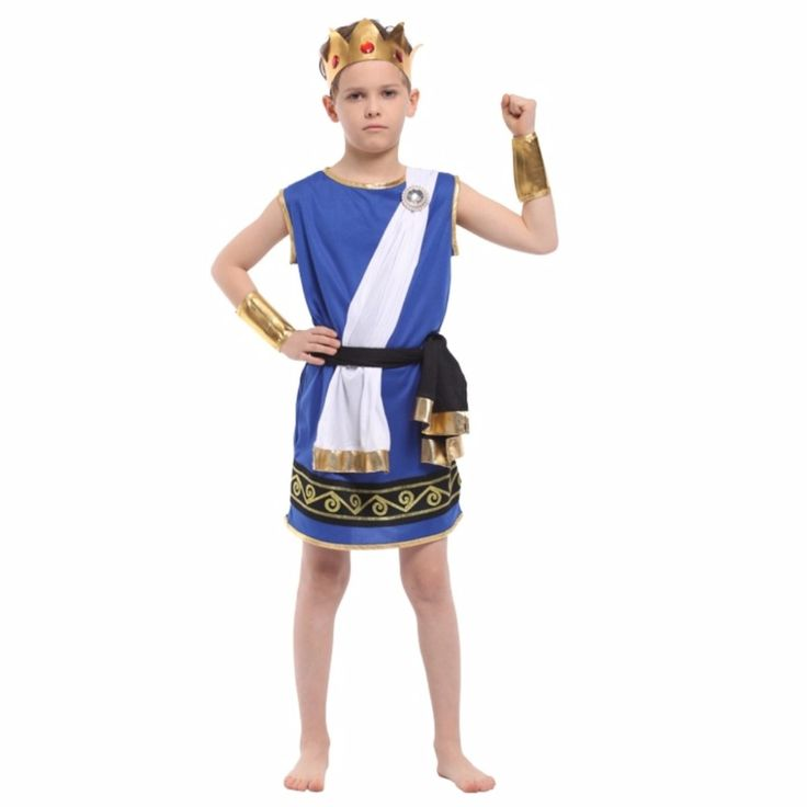Shanghai Story Boy Stage Cosplay Costumes Zeus Children Play Dress Up Cosplay New Boy Halloween Costumes #Affiliate