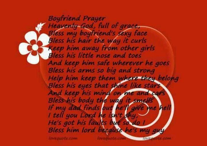 boyfriend prayer